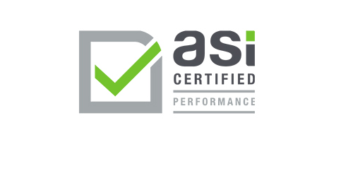 ASI certification logo