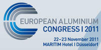 European Aluminium Congress 2011 logo